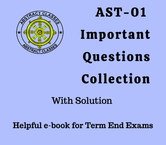 AST-01 Important Questions Collection