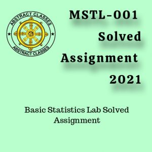 mstl-001 Solved Assignment 2021