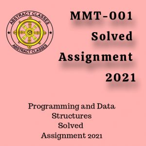 MMT-001 Solved Assignment 2021